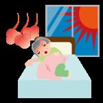 夏バテで睡眠不足気味の方へ3つの対策方法をお伝えします!