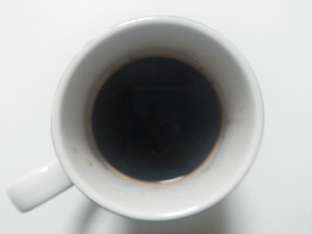 エクササイズコーヒー お湯入れた